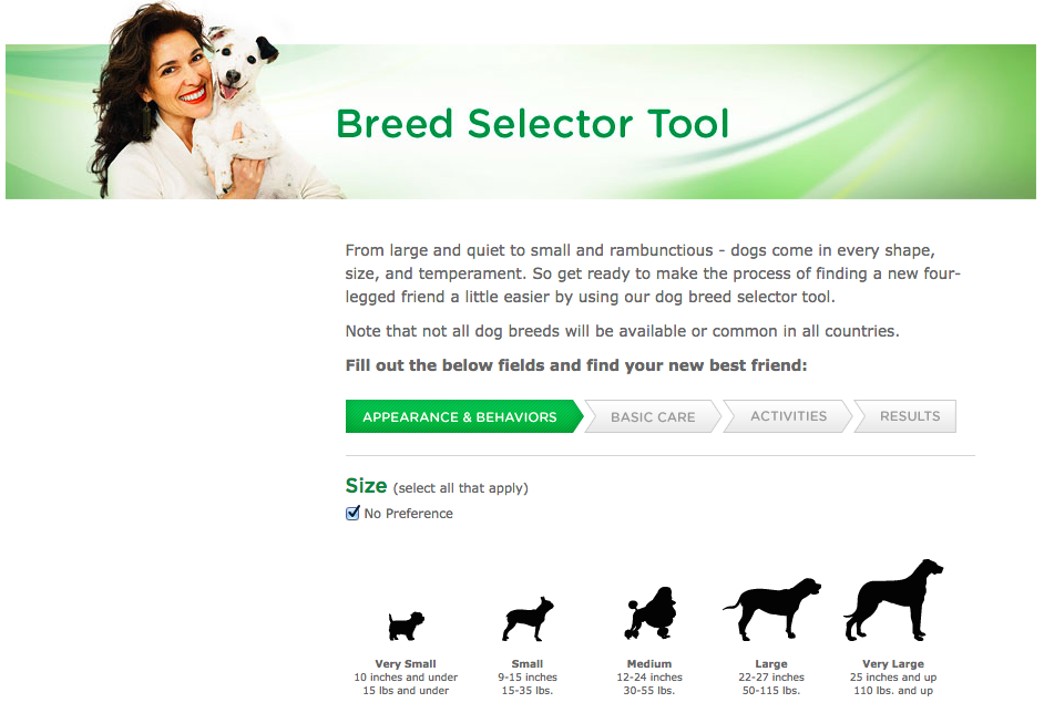 Best Dog Breed Selector Tool